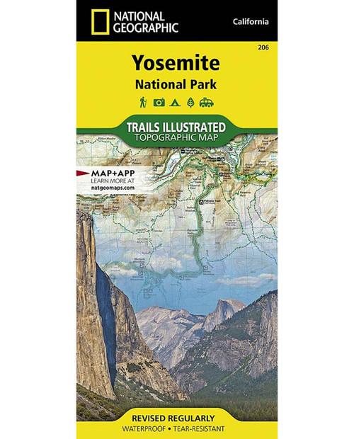 NATIONAL GEO MAPS Yosemite Natl. Park #206