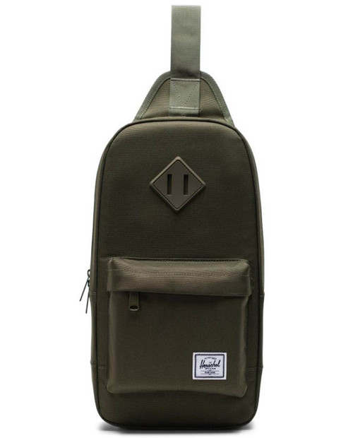 Heritage Shoulder Bag in Ivy Green