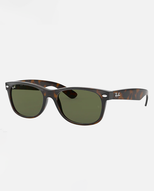 New Wayfarer with Tortoise Frame and G-15 Green Lens