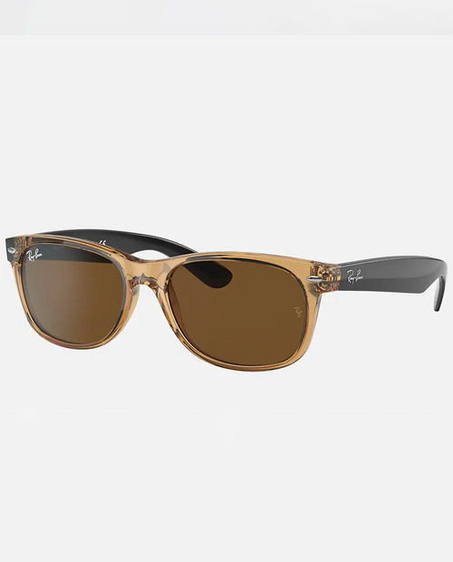 New Wayfarer with Honey Frame and B-15 Brown Lens