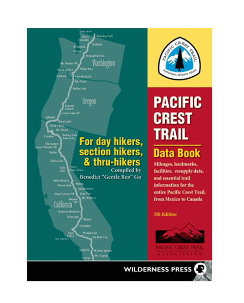 WILDERNESS PRESS Pacific Crest Trail Data Book
