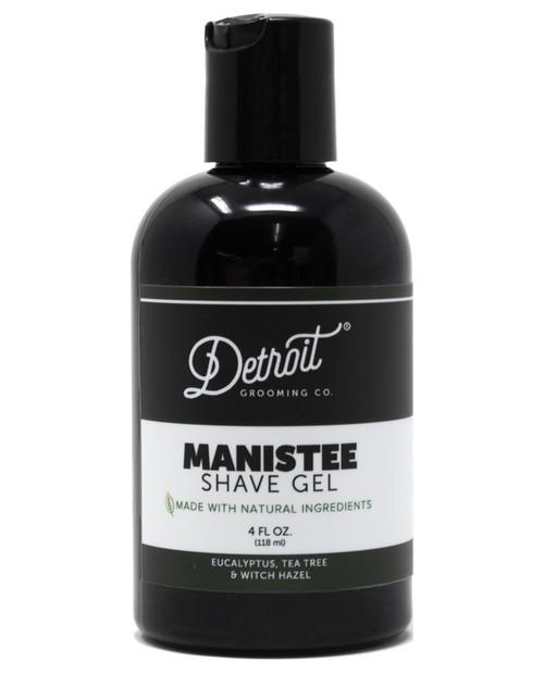 DETROIT GROOMING CO 4oz Manistee Shave Gel