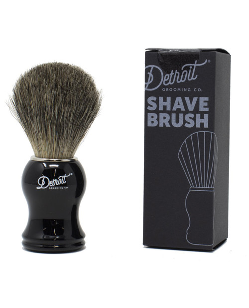 DETROIT GROOMING CO Shave Brush