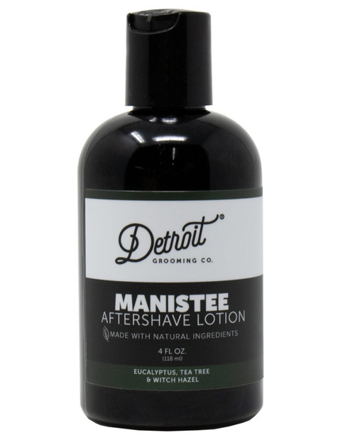 DETROIT GROOMING CO Manistee Aftershave Lotion  4oz