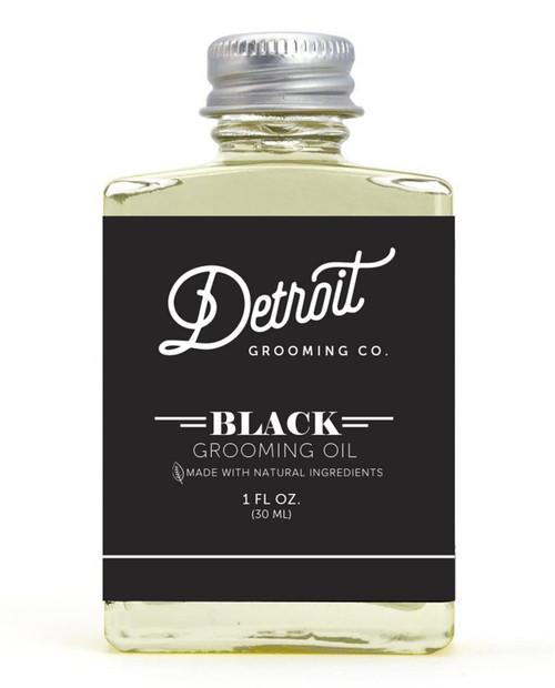 DETROIT GROOMING CO Black Edition Beard Oil