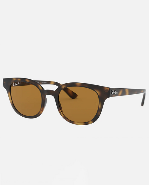 RB4324 with Light Havana Frame and Brown  Lens