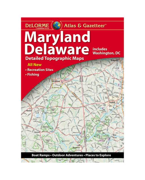 DELORME Maryland/Delaware Atlas