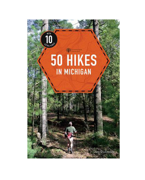 MICHIGAN TRAIL MAPS 50 Hikes in Michigan: Full Color