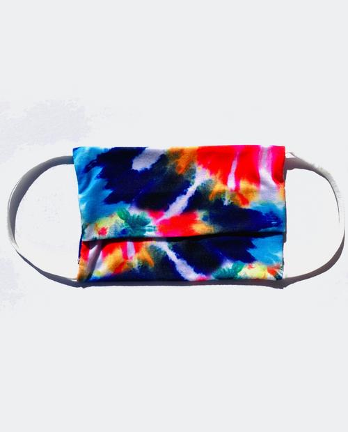 Facemask Rainbow Tie Dye