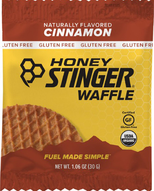 HONEY STINGER Stinger Gluten Free Waffle-Cinnamon