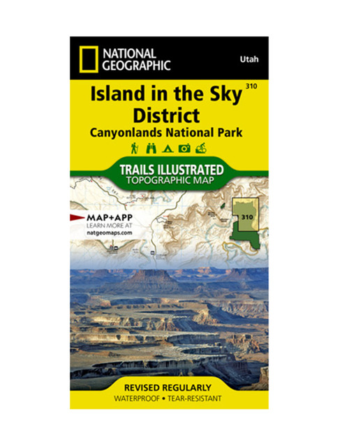 NATIONAL GEO MAPS Island in the Sky Hiking Map
