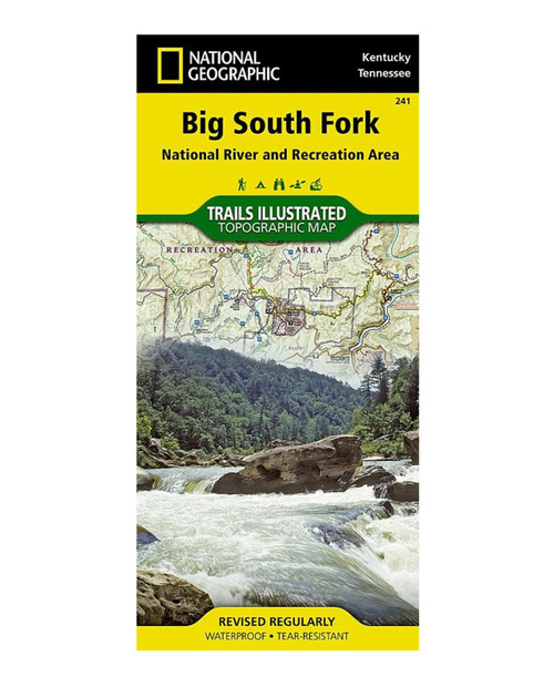 NATIONAL GEO MAPS KY/TN Big South Fork Map (NGS)