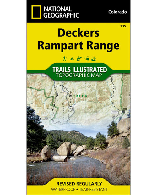 NATIONAL GEO MAPS Deckers Hiking Map (TI 135)