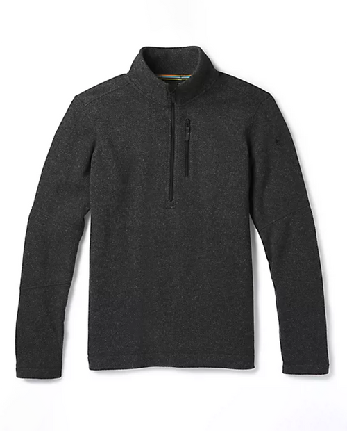 Mens Hudson Trail Fleece Half Zip Sweater