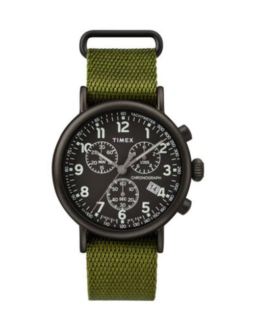 TIMEX Standard Chrono Green Strap