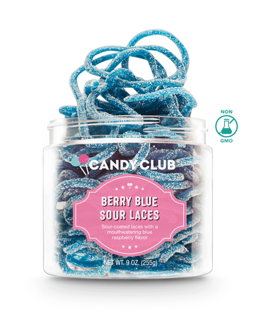 CANDY CLUB Berry Blue Sour Laces