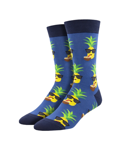 SOCKSMITH Mens Aloha Pineapple Socks