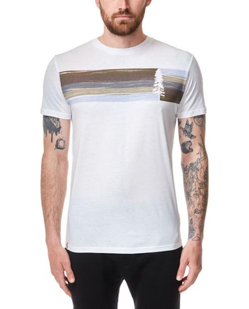 TEN TREE Mens Spruce Stripe T-Shirt