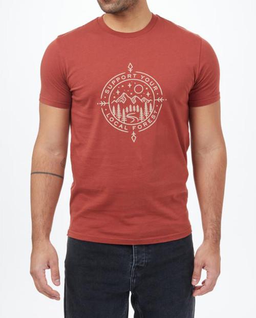TEN TREE Mens Support T-Shirt