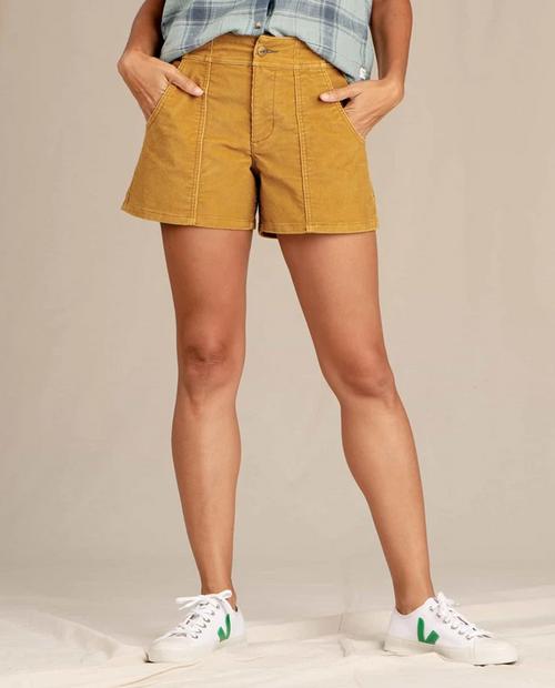 Womens Coaster Cord Short
