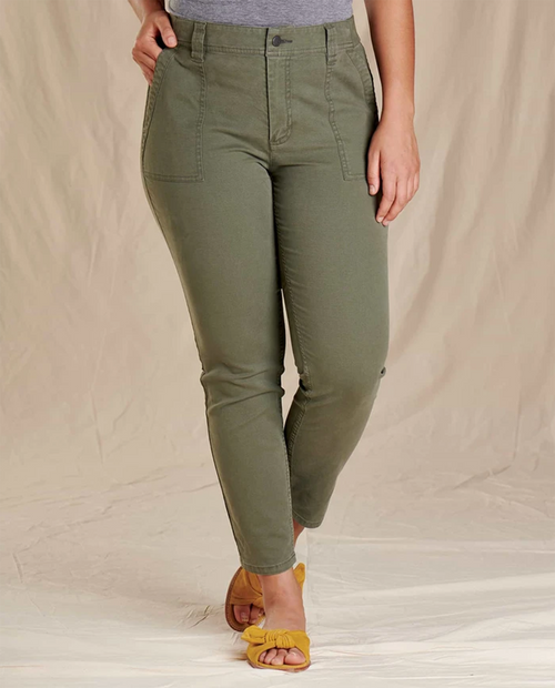 Womens Earthworks Ankle Pant