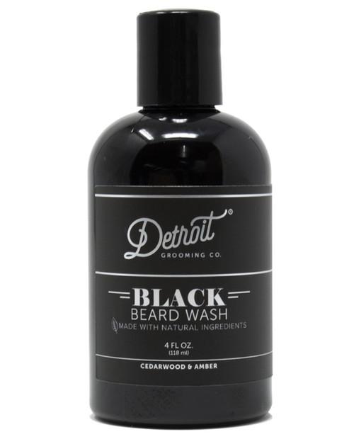 DETROIT GROOMING CO Mens Black Beard Wash
