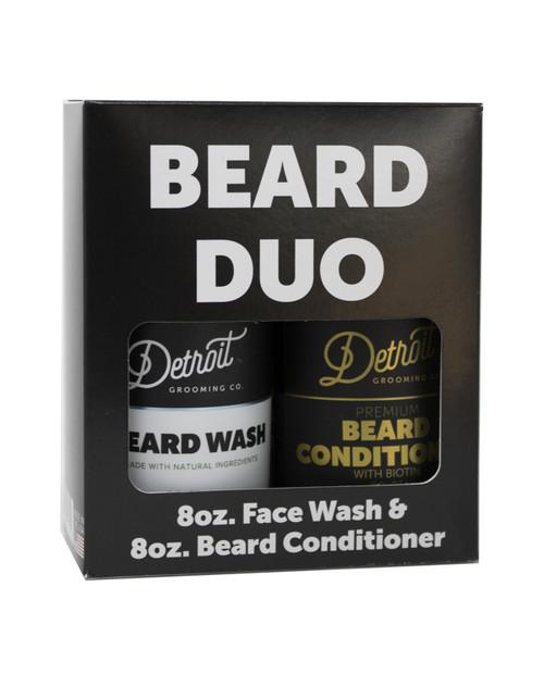 DETROIT GROOMING CO Mens Beard Duo