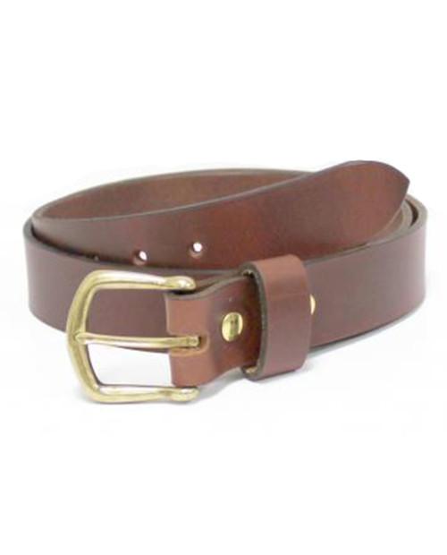 38MM Shackleton Leather Belt in Mesa Brown