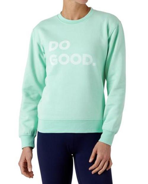 Do Good Crew Sweatshirt in Agave