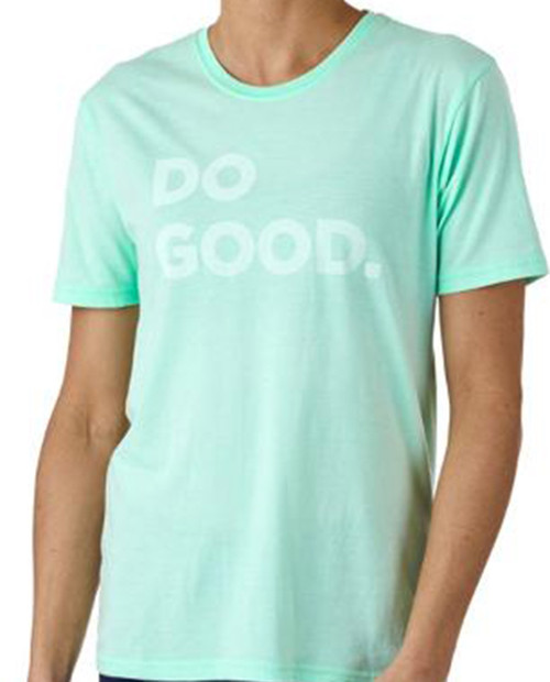 Womens Do Good T-Shirt in Agave