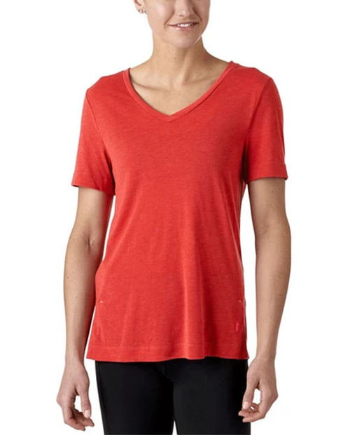 Womens Paseo Travel T-Shirt in Terracotta