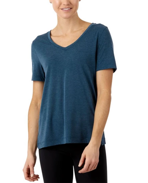 Womens Paseo Travel T-Shirt in Indigo