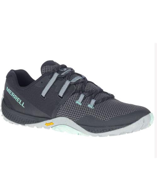 MERRELL Womens Trail Glove 6 in Black