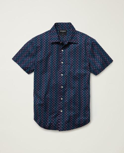 Mens Riviera Short Sleeve Shirt - Slim