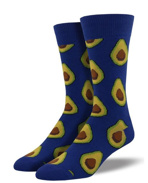 Mens Avocado Socks