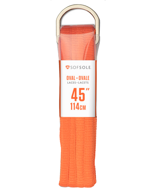Athletic Oval Lace Orange 45in