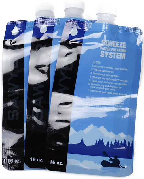 Sawyer 16oz Squeezable Pouch (3