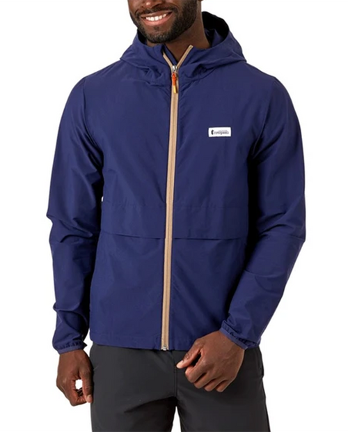 Mens Viento Wind Jacket in Maritime