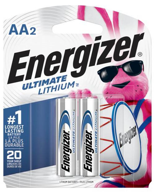 Ultimate Lithium AA 2pk