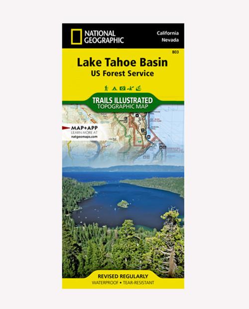 NATIONAL GEOGRAPHIC MAPS Lake Tahoe Basin #803