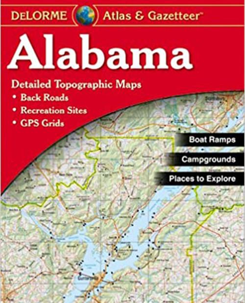 DELORME MAPPING Alabama Atlas