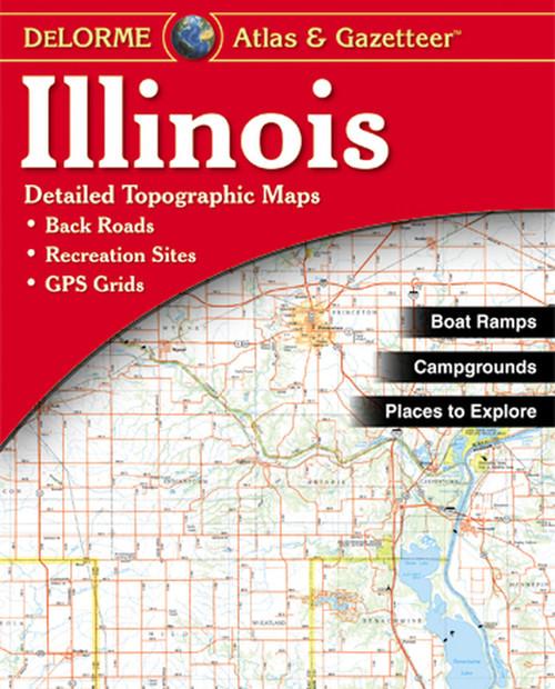 DELORME MAPPING Illinois Atlas