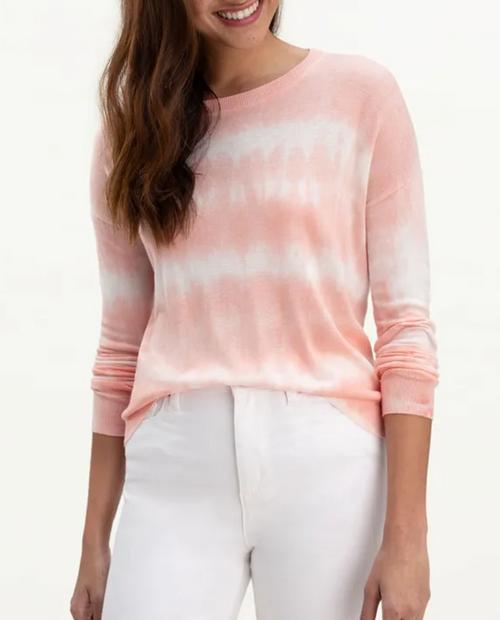 Womens Sunkiss Tie Die Sweater