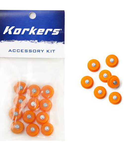 Korkers Press-in Steel Replacement Spikes - 12 Pack