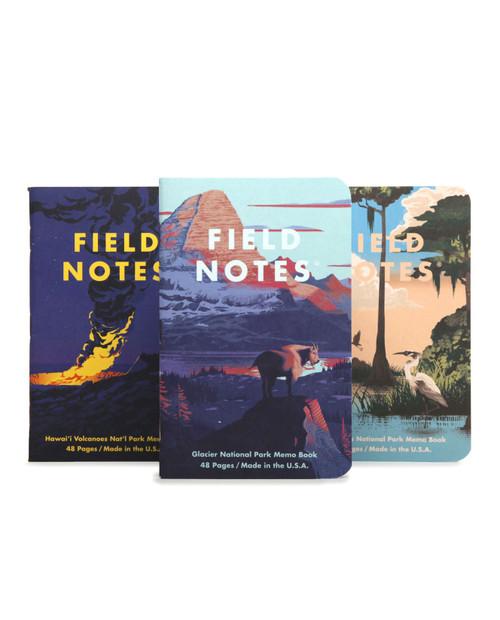 National Parks Series F: Glacier, Hawaii, Volcanos, Everglades