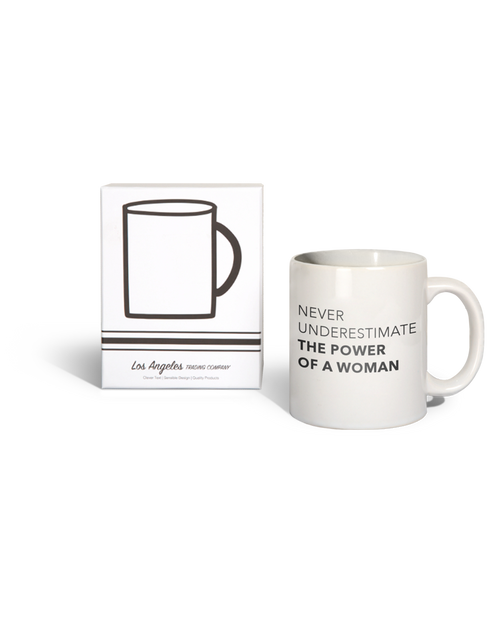 LATC Never Underestimate The Power of a Woman Mug