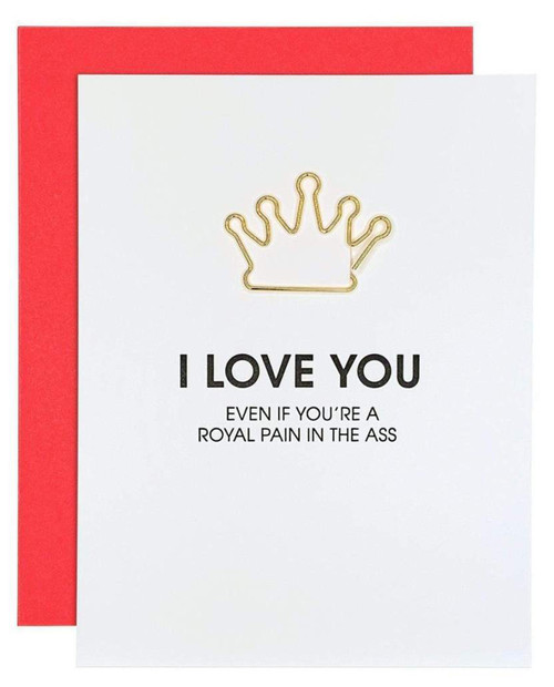 CHEZ GAGNE I Love You Royal PITA