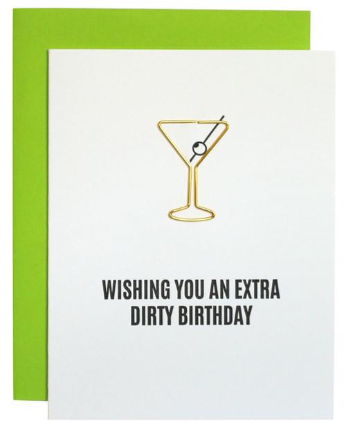 CHEZ GAGNE Extra Dirty Birthday Card