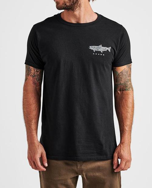 ROARK Mens Maintain to Sustain  Shirt in Black