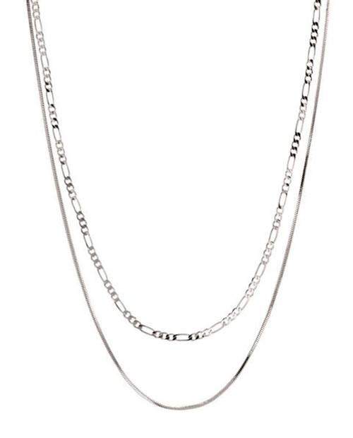 LUV AJ Womens Cecillia Chain Necklace